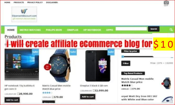 How to make price comparison ecommerce WordPress website